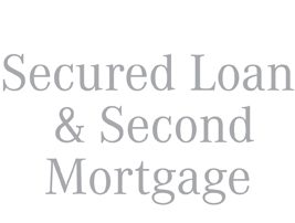 Secured Loans & Second Mortgages