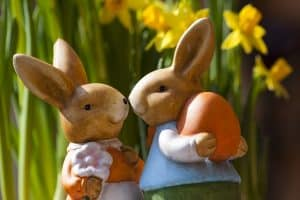 Get your mortgage & move home at Easter : Loving Easter Rabbits